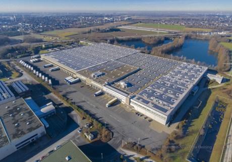 Luftbilder von Luftaufnahmen.NRW in Bochum, Beispiel ALDI Langenfeld