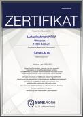 Luftbilder/Luftaufnahmen per Drohne ab jetzt zertifiziert durch Safe-Drone by Lufthansa Technik
