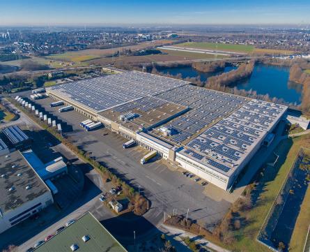Luftbilder per Drohne Düsseldorf, Luftaufnahmen.NRW