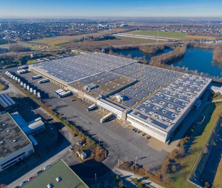 Luftbilder per Drohne für Unternehmen, erstellt von Luftaufnahmen.NRW